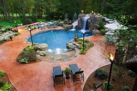 beautiful backyard swimming pools beautiful backyard lighting pools xcitefun net