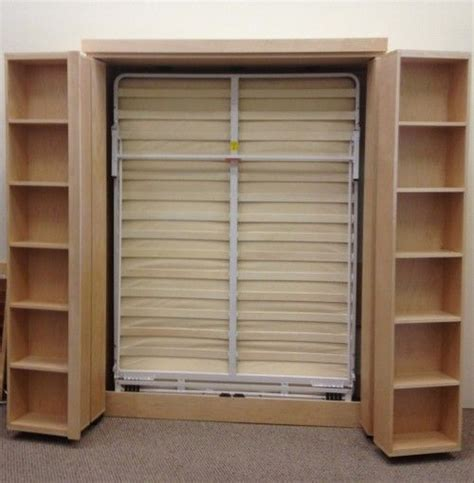 bookcase murphy bed home