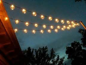 Clear Patio String Lights Sival Clear Globe String Lights Set Of 25 G40 Bulbs For Patio Gardens Gazebos