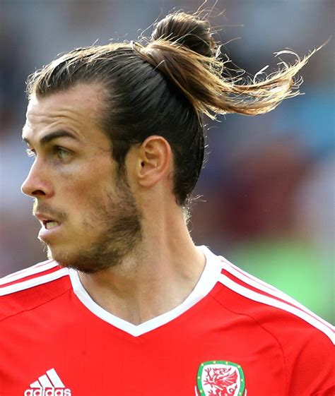 gareth bale long hair gareth bale haircut name and how to celebrity hairstyles