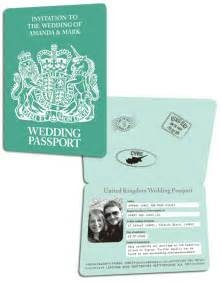Passport Wedding Invitations Template by Travel Themed Wedding My Wedding Bag