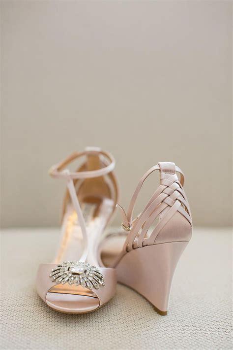 Blush Wedge Wedding Shoes blush bridal wedges bridal shoes bridal