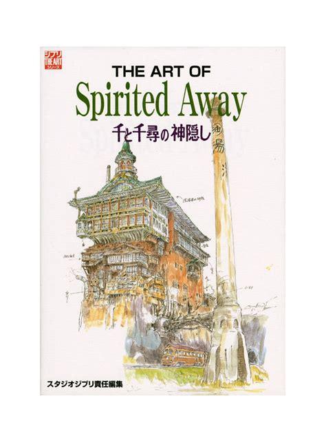 ghibli the spirited away artbook