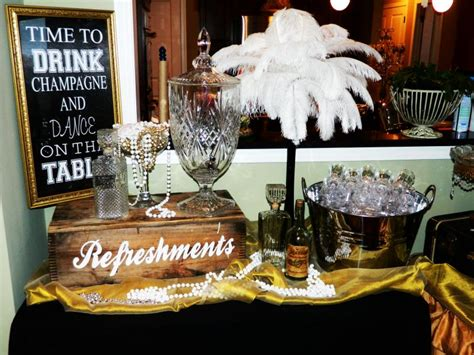 great gatsby bridal shower ideas great gatsby bridal shower all the rage decor