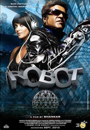 film robot espace endhiran le robot critique