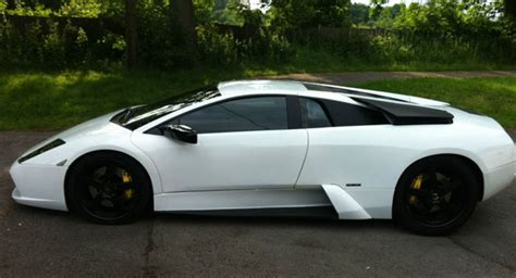 Replica Lamborghini It Came From Ebay Lamborghini Murcielago Kit Car With
