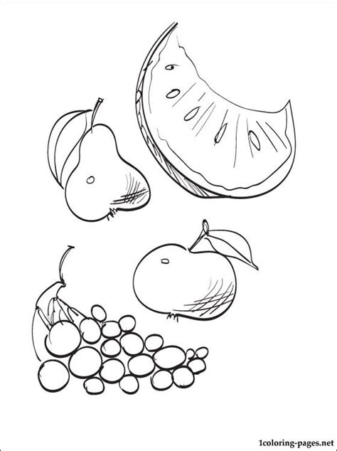 autumn vegetables coloring pages autumn fruits coloring page coloring pages