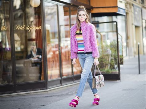 what does style facts about chiara ferragni popsugar fashion