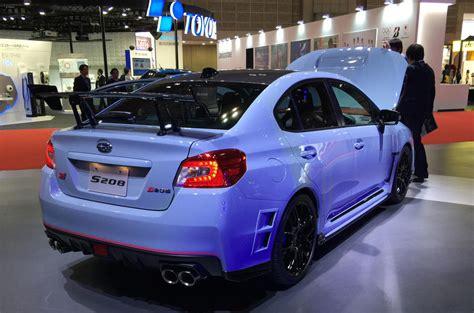 subaru impreza range subaru wrx sti s208 special edition is new range topper