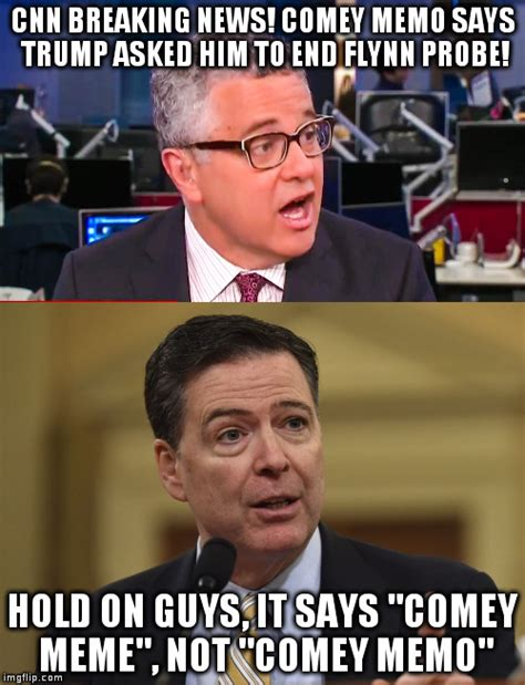Breaking News Meme Generator - oops the press jumps the gun on obstruction of justice