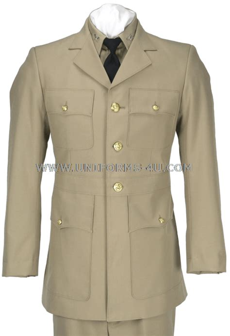 us navy dress khaki uniform service dress khaki uniform wild anal