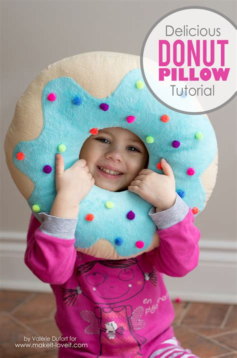 Where Can I Get A Donut Pillow by Delicious Donut Pillow Tutorial Make It And It