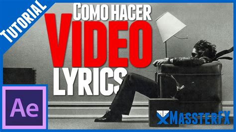 tutorial after effects lyric video video lyrics tutorial de after effects youtube