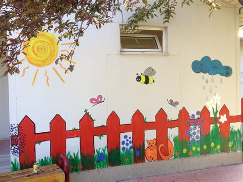 Paint By Number Wall Mural wall painting kindergarten murals pinterest