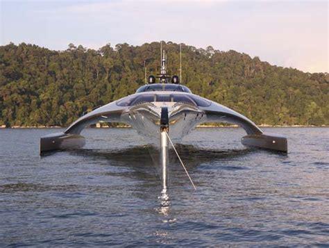 trimaran yacht hong kong adastra 15 million luxury yacht by john shuttleworth