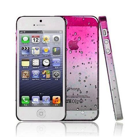 fundad iphone 4 funda carcasa 3d gotas de agua fina cover para iphone
