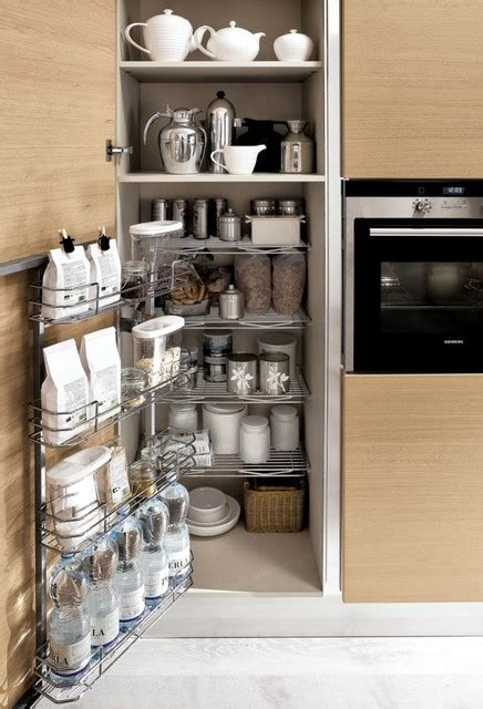Kitchen Cupboard Interior Storage | modern kitchen cabinets contemporary los angeles by