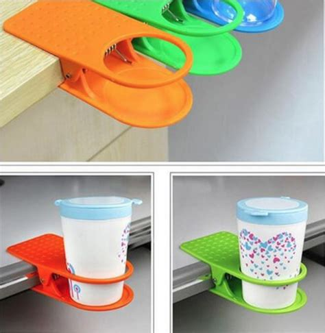 clip holder gelas botol minum multi color