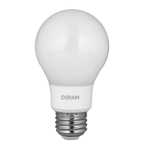 Led Lights And Bulbs Shop Sylvania 40 W Equivalent Dimmable Soft White A19 Led Light Fixture Light Bulb At Lowes