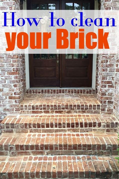 How To Clean A Brick Patio by How To Clean Wood Or Brick Welcome To Refresh Restyle