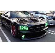 Dodge Charger With Oracle Lights Halos Pre 2013 Spring