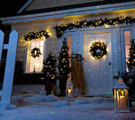 christmas lights projected on house best 25 light projector ideas on outdoor projector light