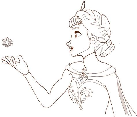 How To Draw Princess Elsa From Frozen Step By Step How To Draw A Princess Printable