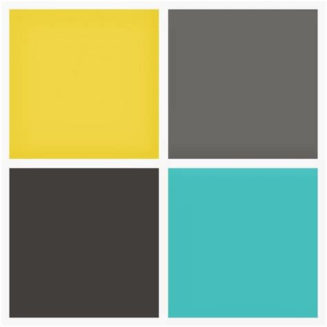 grey color scheme 1000 ideas about yellow gray turquoise on pinterest