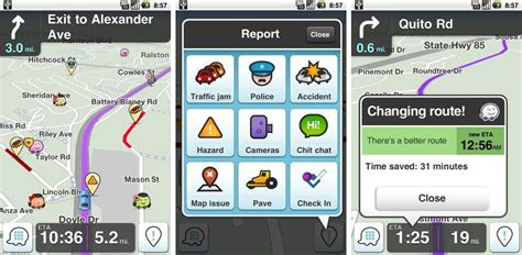 waze app for android waze social gps maps traffic map3