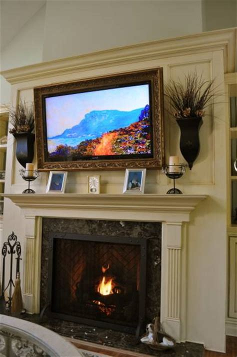 Fireplace Mantel Ideas With Tv by Bedroom Fireplace Pics Home Pleasant