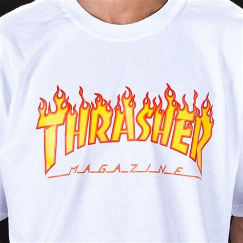 Kaos Trasher 9 thrasher magazine logo t shirt clothes stalking