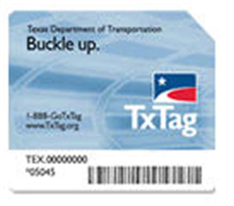 Txtag Sticker toll roads do not the of whall