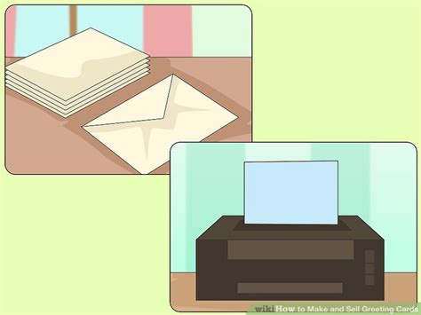 how to make photo cards to sell how to make and sell greeting cards with pictures wikihow