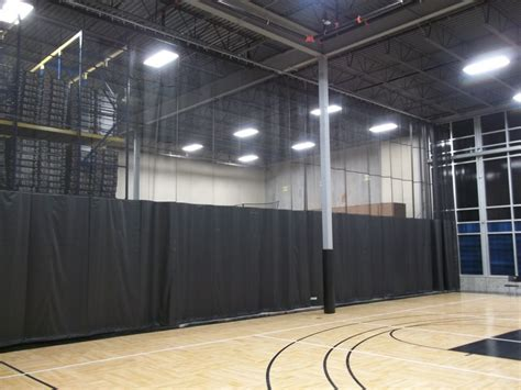 gym divider curtains cost gym divider curtains southern minnesota inspection