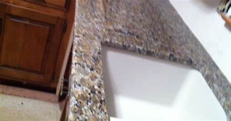 How To Paint Stained Kitchen Cabinets ferro gold granite countertop with granite composite sink