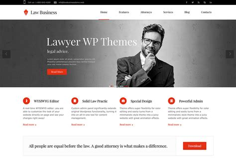 16 Professional Lawyer Attorney Wordpress Themes 2015 Colorlib Lawyer Web Templates