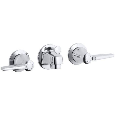 triton wall mount bathroom faucet lever handles bathroom kohler triton shelf back 2 handle wall mount commercial