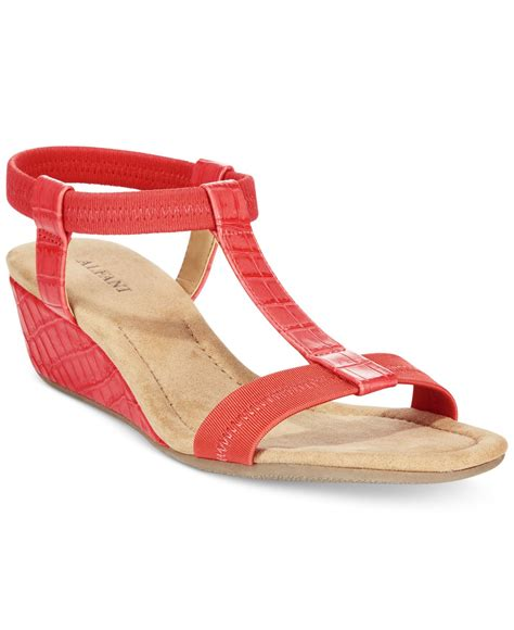 alfani s voyage wedge sandals only at macy s in