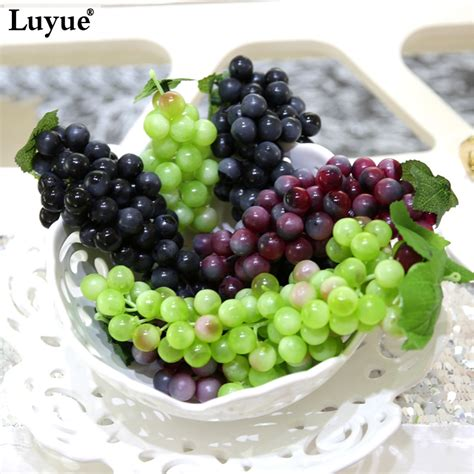 aliexpress com buy artificial fruit grapes plastic fake