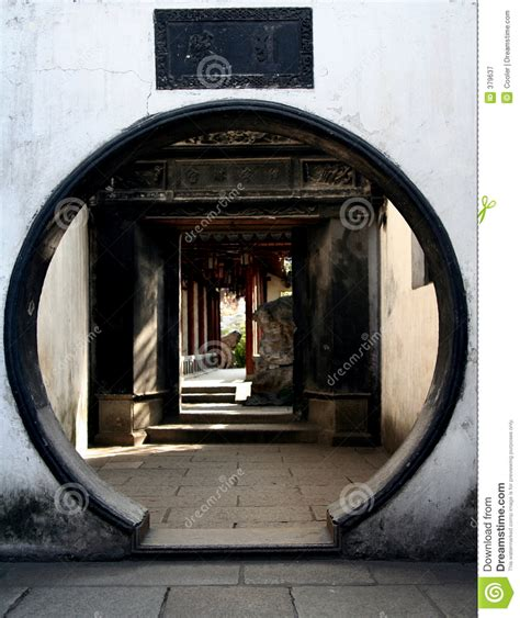 circle door design stock image image of architecture