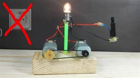 cara membuat jebakan tikus menggunakan listrik cara membuat lu tanpa listrik dan baterai sederhana di
