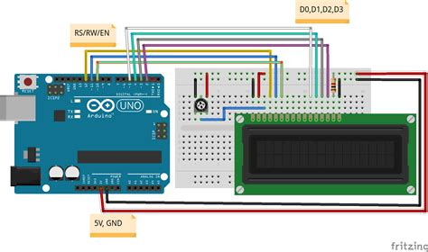 Lcd Arduino 2x16 2x16 lcd with arduino jpg wiring diagram components