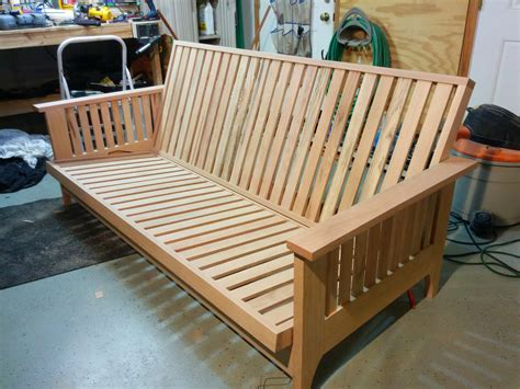 build futon frame futon frame plans bm furnititure