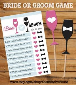 or groom printable with matching props bridal