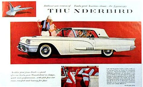 free car manuals to download 1958 ford thunderbird electronic throttle control 1958 ford thunderbird ad 03