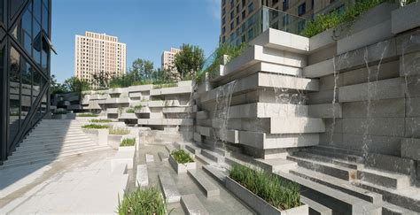 Landscape Architecture Technology Beiqijia Technology Business District Beijing China