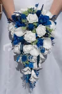 shop scottish bridal bouquet w white roses blue thistles