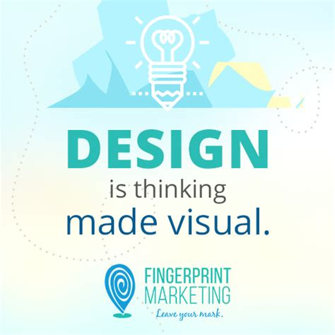 design is thinking made visual meaning brandgasmic 14 fingerprint marketing
