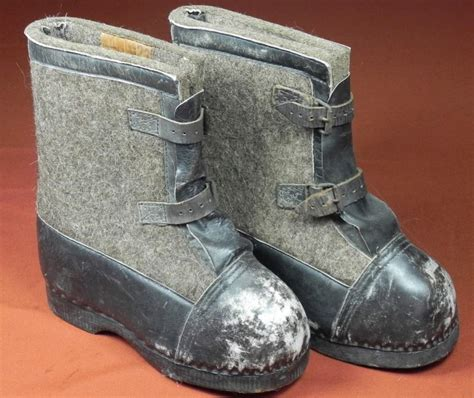 ww2 boots need help ww2 german snow boots with buckle