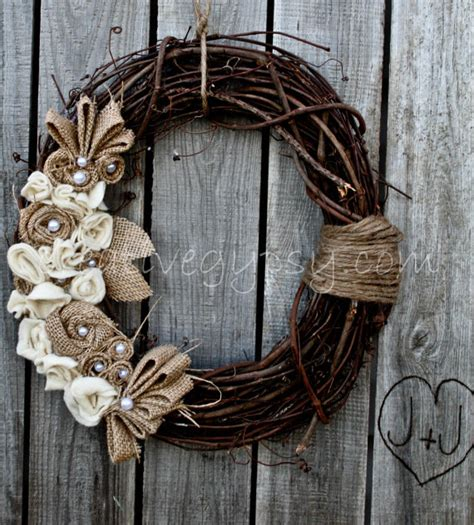 burlap wreath 50 amazing fall wreaths i nap time